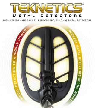 Detectores de metales Teknetics