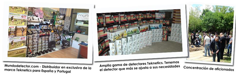 Tienda de detectores Teknetics en Madrid