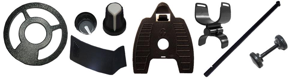piezas para detectores de metales Teknetics