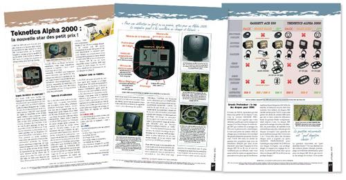 Test del detector de metales Teknetics alpha 2000