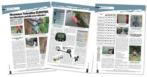 test detector de metales teknetics eurotek PRO