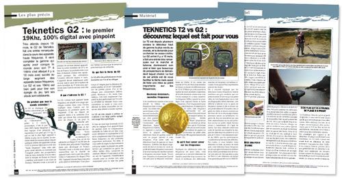 Test detector de metales Teknetics g2