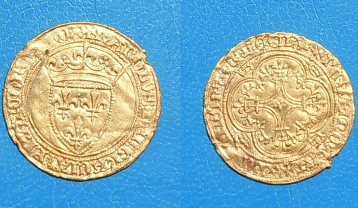 Moneda de oro encontrada con un Teknetics gamma 6000