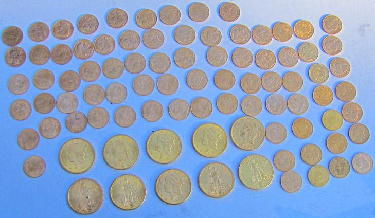 Tesoro de 110 monedas de oro con Teknetics T2